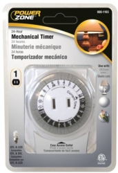 Powerzone TNI24111 Indoor Electromechanical Timer
