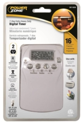 Powerzone TNDHD002 Indoor Timer