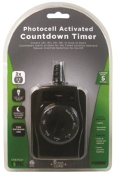 Powerzone TNOCD002 Outdoor Photosensitive Countdown Timer