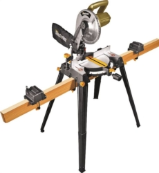 Rockwell Shop RK7136.1 Sliding Compound Corded Miter Saw with Leg Stands