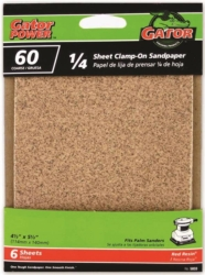 Gator 5033 Clamp-On Power Sanding Sheet