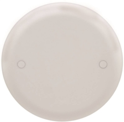 Carlon CPC4WH Blank Round Flat Outlet Box Cover