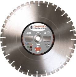 Diamond Products 84968 Segmented Rim Arbor Cut-All Circular Saw Blade