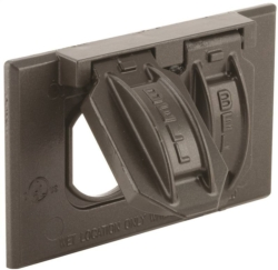 Bell Raco 5180-2 2-Hole Weatherproof Device Cover