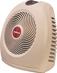 HEATER ELECTRIC VH2 LINEN/WHT
