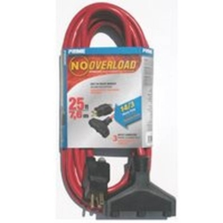 Prime Wire and Cable CB614725 No Overload Extension Cords