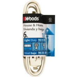 WW 6' Cube Tap Extension Cord