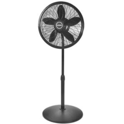"18"" Pedestal Fan  Black"