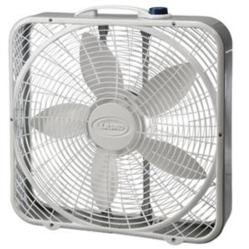 "20"" Power Plus Box Fan 3 Speed"