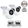 2P 1080p Wired Infrard Sec Cam