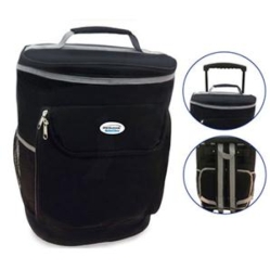 Cooler Bag wWheels Black