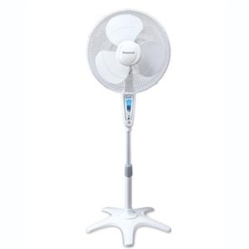 "HW QuietSet 16"" Stand Fan Whte"