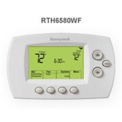 7 Day Wi Fi Thermostat Button