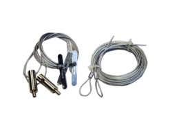 Wire cable hanging kit 10ft (2 pcs. Per kit)