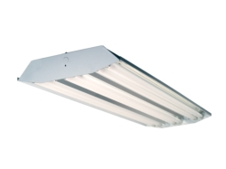 T8 LED Ready Highbay 4FT Six Lamp Fixture