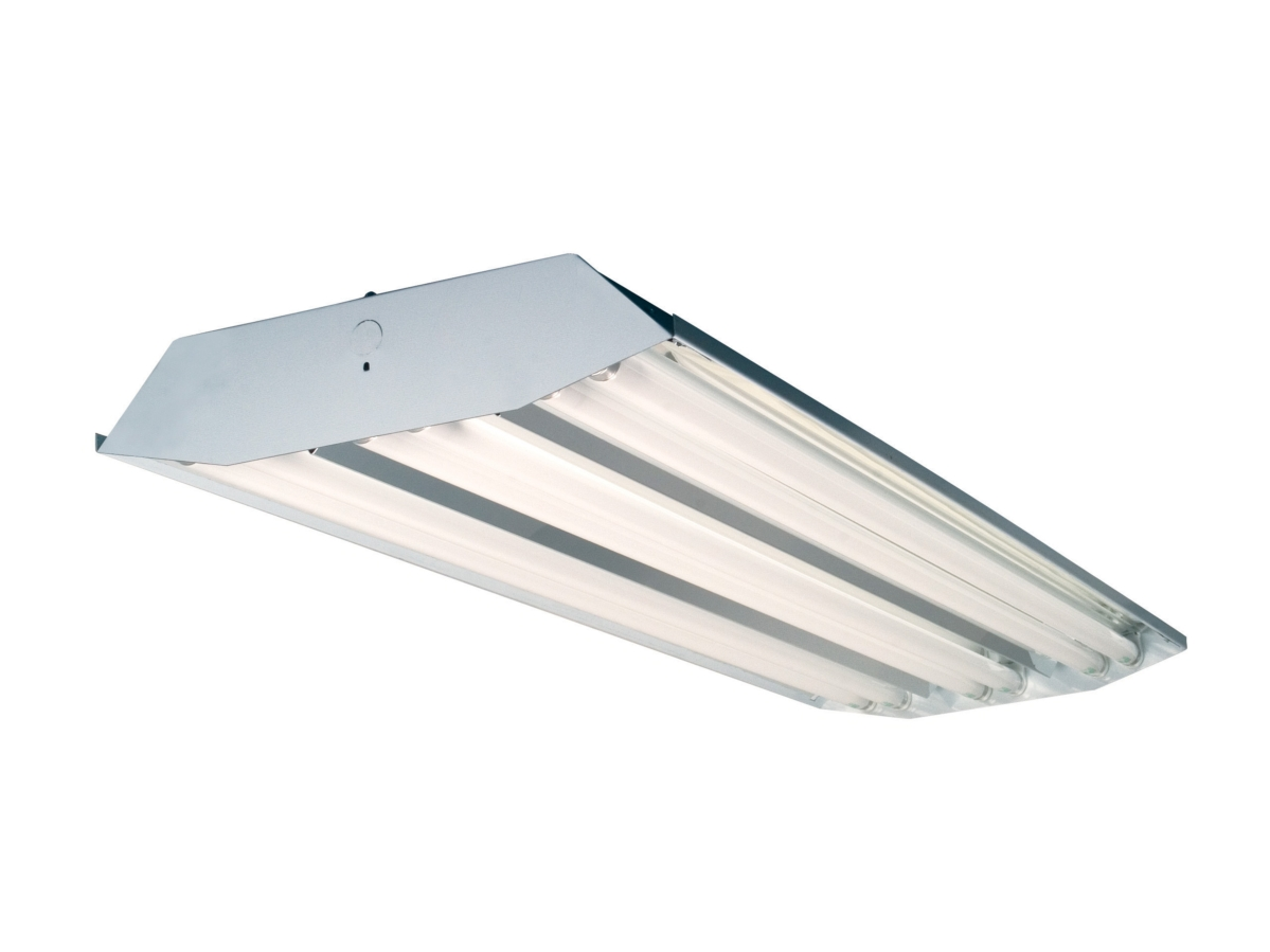 T8 led ready highbay 4ft six lamp fixture · larger photo