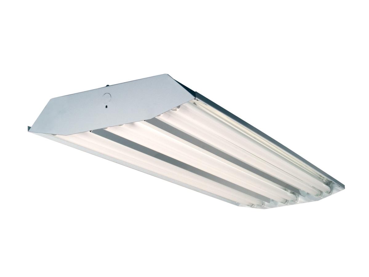 Warehouse light T8 fluorescent high bay 6 lamp 32W