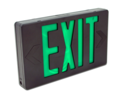 LED exit sign green HL02012GB