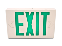 Led exit sign green letter HL02012GW