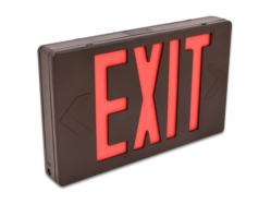 LED sxit sign red letter HL02012RB