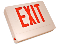 led red exit sign HL0201B2RW-RC