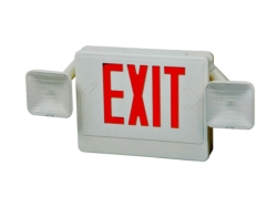 red letter exit emergency HL04093RWRC
