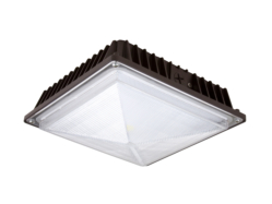 LED Canopy Fixtures: Replaces 70W Metal Halide Canopies 5000K 38W 3,500 Lumens