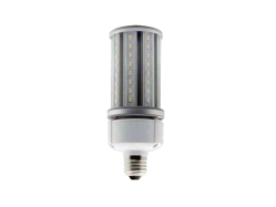 E26 MED Corn Lamp LED 3000K 24W Clear Medium