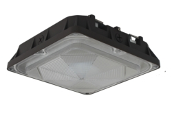 LED Canopy Fixtures: LED Canopy Fixture, Small 100W HID Replacement LSCT45DMV