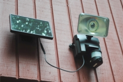 Solar security Video Camera and Floodlight