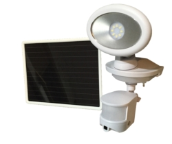 Solar-security Video Camera and Spotlight
