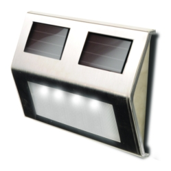 Solar Metal LED Deck Lights
