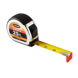 Keson PG1825MAG Short Tape Measure with Nylon Coated Steel Blade and Autolock