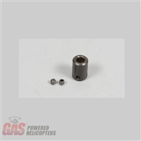 6mm Start Coupler with set screws