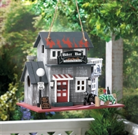 Route 66 Biker Bar Birdhouse