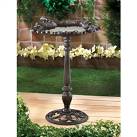 Forest Frolic Bird Bath