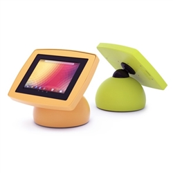 Sphere is a secure, fun and inviting tablet POS stand and kiosk enclosure. You can use the compact, yet inviting, design of the Sphere to enhance your kiosks.