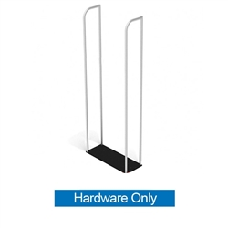 8ft Merchandiser Display Black Plate (Hardware Only)