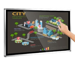 55in Wall Mounted Touch Screen Computer