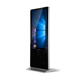 43in 4K Screen Vertical PC Kiosk w/ Touch Screen Display (LV1043-T)