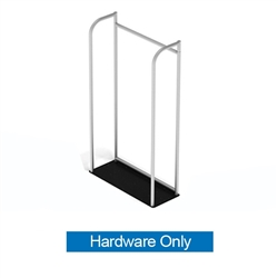 3ft x 5ft Waveline Merchandiser | Hardware Only Tension Fabric Display