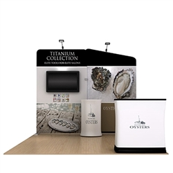 10ft Oyster A Makitso Waveline Media Booth is one of the most popular exhibits. Tension Fabric Displays: largest variety of Waveline 20ft BackWall Kits for trade shows, events.WaveLine straight fabric display creates a sleek and elegant booth