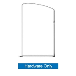 79in x 107in Panel C Waveline Media Frame | Backwall Hardware Only