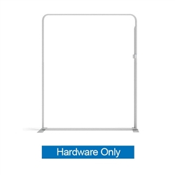 40.6in x 88.9in WaveLine Media Fabric Display by Makitso - Panel D - Hardware Only. Choose this easy, impactful and affordable display to stand out from your competition at your next trade show.