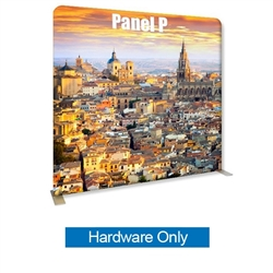 96in x 89in Panel P Waveline Media Frame | Backwall Hardware Only