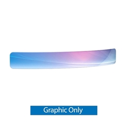 Curved Header for WaveLine Media Displays | Single-Sided Replacement Print