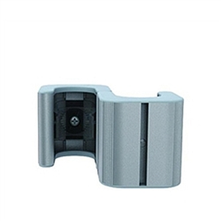 WaveLine S-Shaped Connector Double. WaveLine single edge foot with aluminum necking for the WaveLine series of exhibit systems.