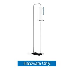 24in x 60in Waveline Tension Fabric Banner Stand | Hardware Only