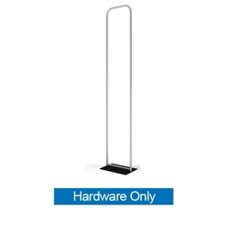 24in x 116in Waveline Tension Fabric Banner Stand | Hardware Only