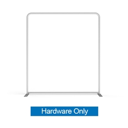 8ft Makitso WaveLight Flat Frame Kit w/ LED Light. WaveLIght Backlit Displays from Makitso USA are one of the thinnest tension fabric light boxes to hit the exhibit market.